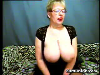 heet grote borsten, webcam tube, oma video-