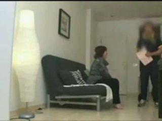 heetste lesbisch actie, vol dochter gepost, nieuw drietal video-