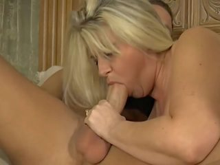 Blonde Mom Fucking Hot with Her Son, Free Porn 86