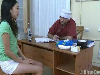 plezier vagina mov, dokter scène, heet ziekenhuis