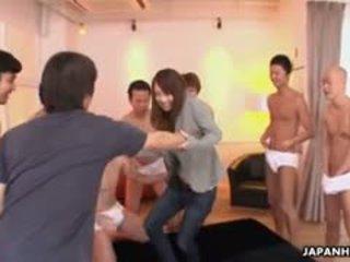 ideaal japanse, vol groepsseks porno, meer kleine tieten