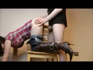 brunette video, check doggystyle, ideal cowgirl