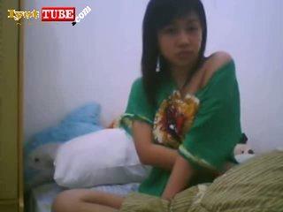 Cute Asian Teen Showing Boobs
