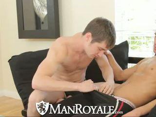 Manroyale Yard exercise gets guys horny