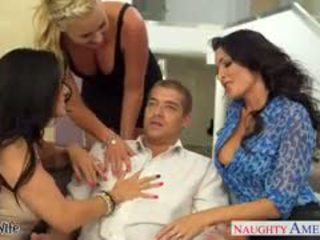 Wives Jessica Jaymes, Phoenix Marie And Romi Rain Fuck In