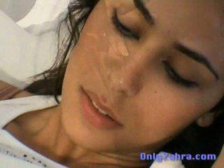 GorgeousSexy Arabic Zahra Masturbates to Orgasm