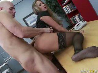tươi ngực lớn, văn phòng quan hệ tình dục, đẹp văn phòng quái vui vẻ