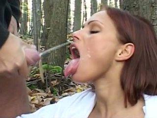 Szilvia Lauren Hot Cumshot