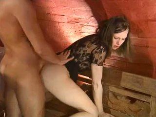 see brunette tube, great oral sex, real deepthroat vid