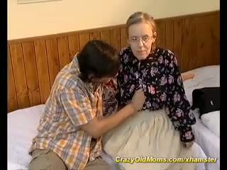Extreme Hairy Mom Needs Deep Anal Sex, Porn a6