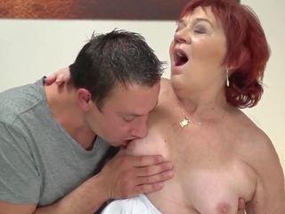 neuken neuken, jong, vers oma porno