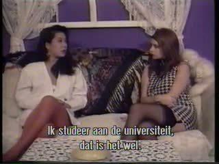 lesbians, vintage, fingering