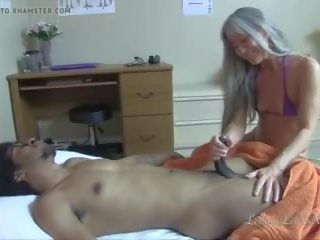 mooi interraciale, kleine tieten seks, massage actie