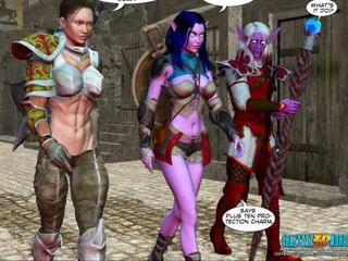3D Comic World of NeverQuest Chronicles 2