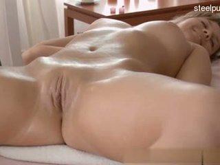 Hot shaved pussy orgasm