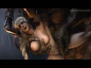 kijken animatie seks, monster actie, groot gedwongen porno