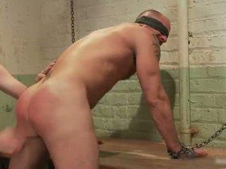 Hardcore gay guys in extreme gay BDSM