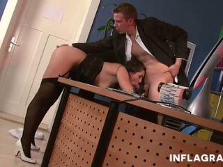 Sexy Upskirt MILF Secretary, Free Sexy MILF Porn Video b8