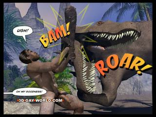 Cretaceous sik 3d geý komik sci-fi sikiş erteki