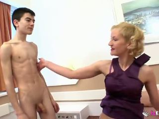 young check, full threesome ideal, mom