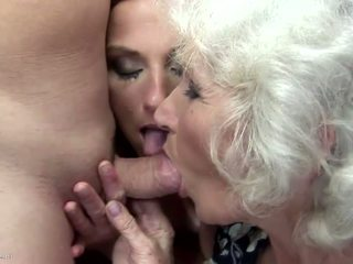 Mom and Granny Fucked and Pissed on by Son: Free HD Porn 2b