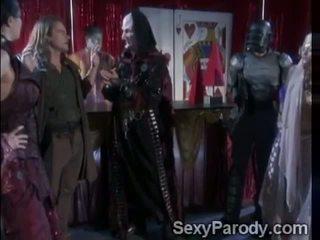Stormy is a space nymphomaniac in Spacenuts XXX parody