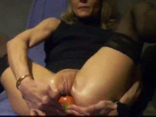 hand mov, echt analsex scène, u objecten vid