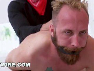 mooi homo- kanaal, ruw, gay anale porno