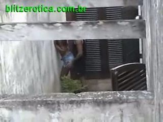 Spycam fucking hot ebony in public hidden