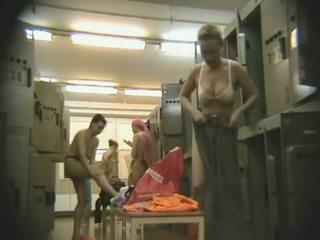 Gym Locker Room Voyeur