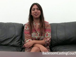 Mexican Teen First Anal and Creampie