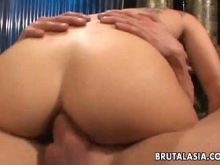 Super Hot Asian Babe Getting Rocked and She Cums: Porn c9