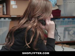 Shoplyfter - Hidden Camera Sex with Tight Pussy Teen...