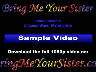 Adorable sister's Casting Filmed By Not Her brother, Part 1