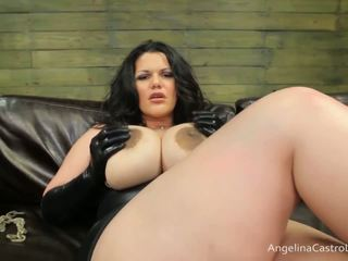 كبير titted angelina castro cocks هيمنة!