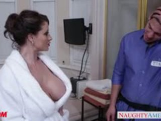 best brunette nice, big boobs, watch blowjob hq