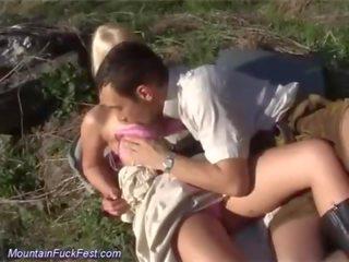 groot orale seks kanaal, controleren vaginale sex actie, echt kaukasisch thumbnail