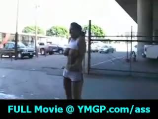 zien brunette, kijken bigtits klem, knipperende porno