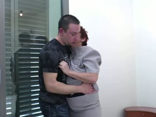 Well Skilled Granny Suck and Fuck Young Boy's Cock: Porn 97