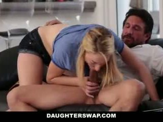 Daughterswap- daughters jogar poker e caralho dads