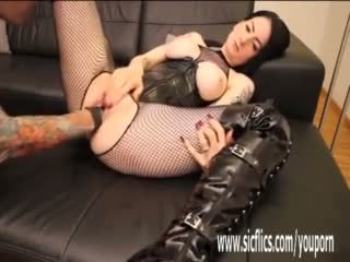 Fisting and Breaking in Her Teen Snatch
