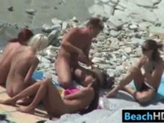 आप समूह सेक्स, मुख्यालय दृश्यरतिक फ़िल्म, देखना समुद्र तट पोर्नो