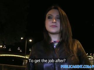 Publicagent Akasha Sex under a public bridge for black haired babe - Porn Video 081