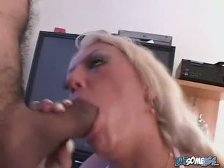 Sweet Victoria Spencer cant get enough of her mans thick hardon in her mouth