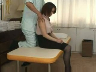 Jepang murid wedok gets fucked by her massager