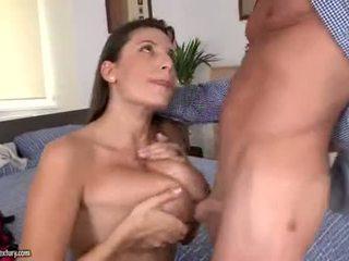 sariwa brunette, malaki oral sex lahat, vaginal sex