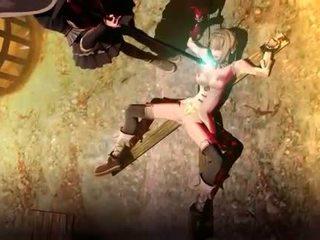 Hentai tied up sex prisoner pussy tortured by samurai