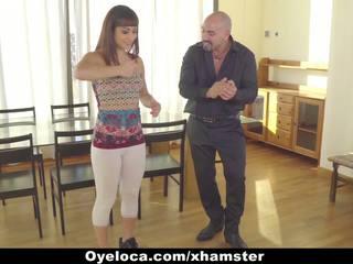 Oyeloca - Latina Seduced and Fucked by Horny Teacher...