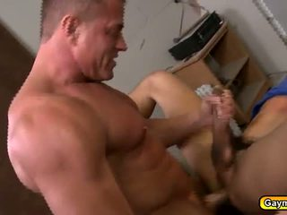 Hunk gays sucking cock and hard anal fucking