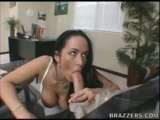 Biggest Boobed Carmella Bing Receives Her Mouth Whacked By A Massive Bone